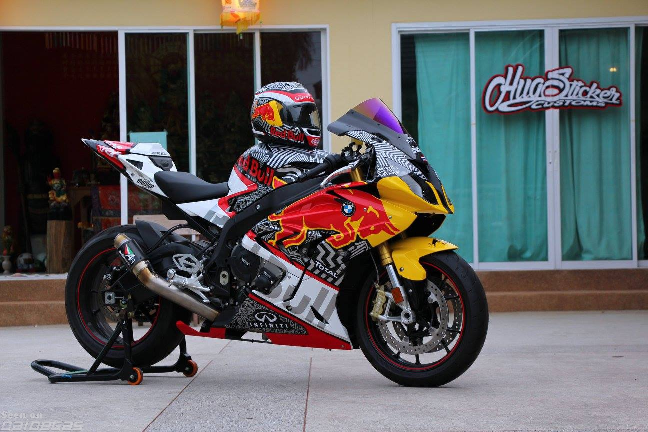 RED BULL S1000RR '15 by Hug Sticker   BMW S1000RR Forums: BMW