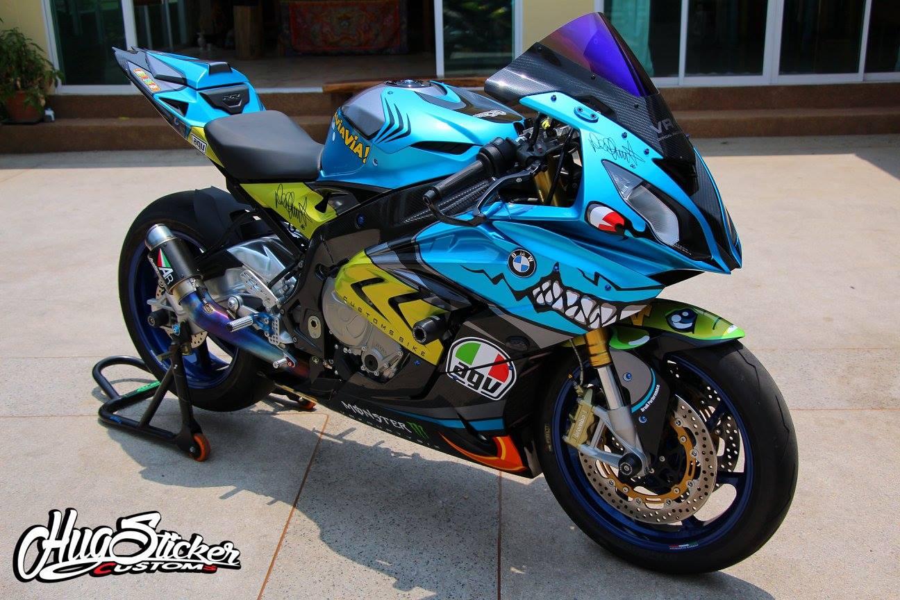 Kawasaki Road Race Decals