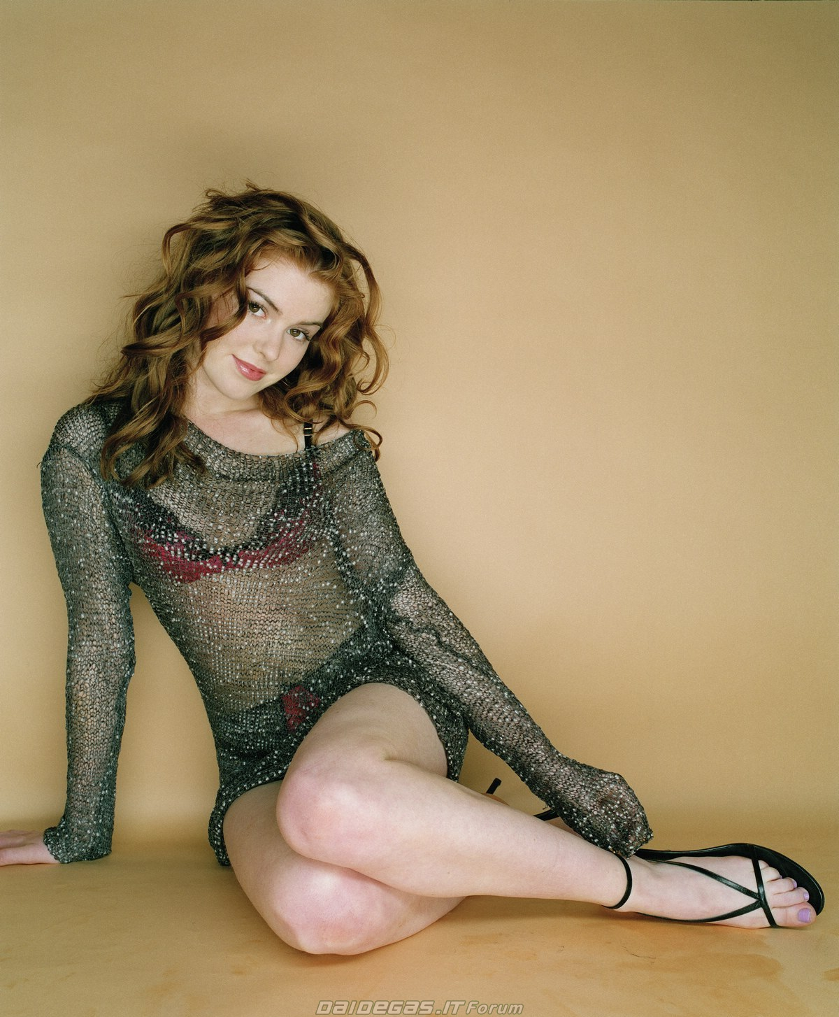 Isla Fisher Lingerie Scene From Keeping Up