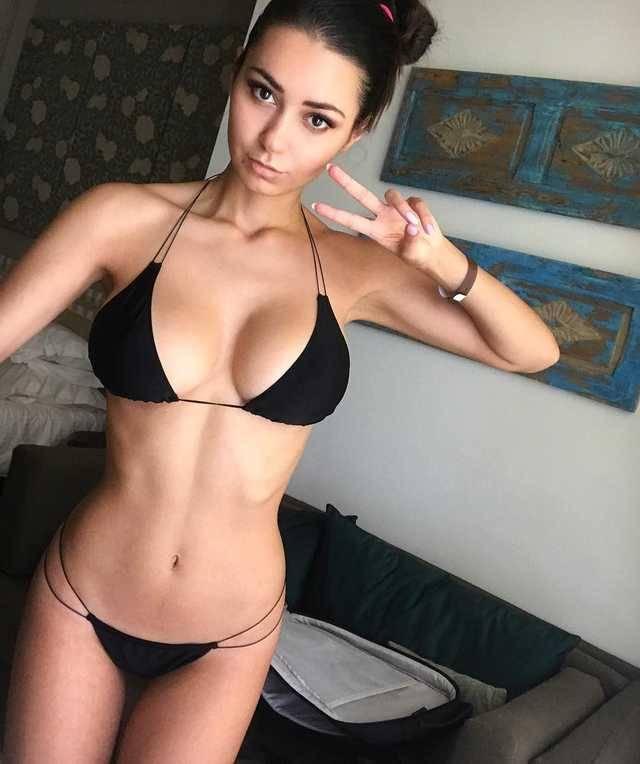 Amateur bikini woman