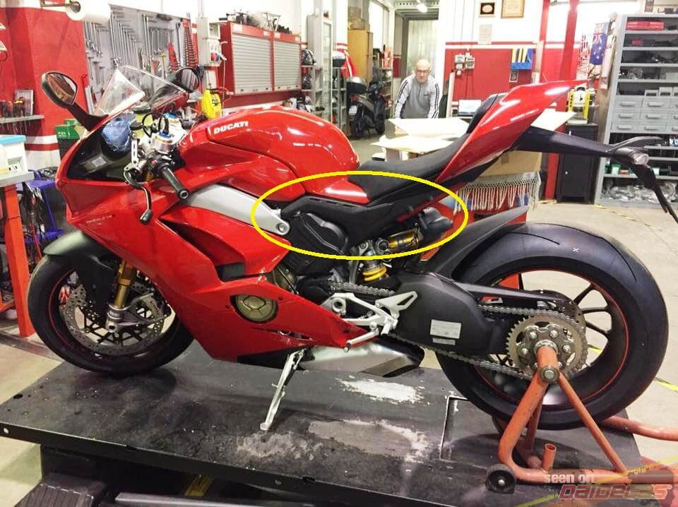 Ducati Front Stand