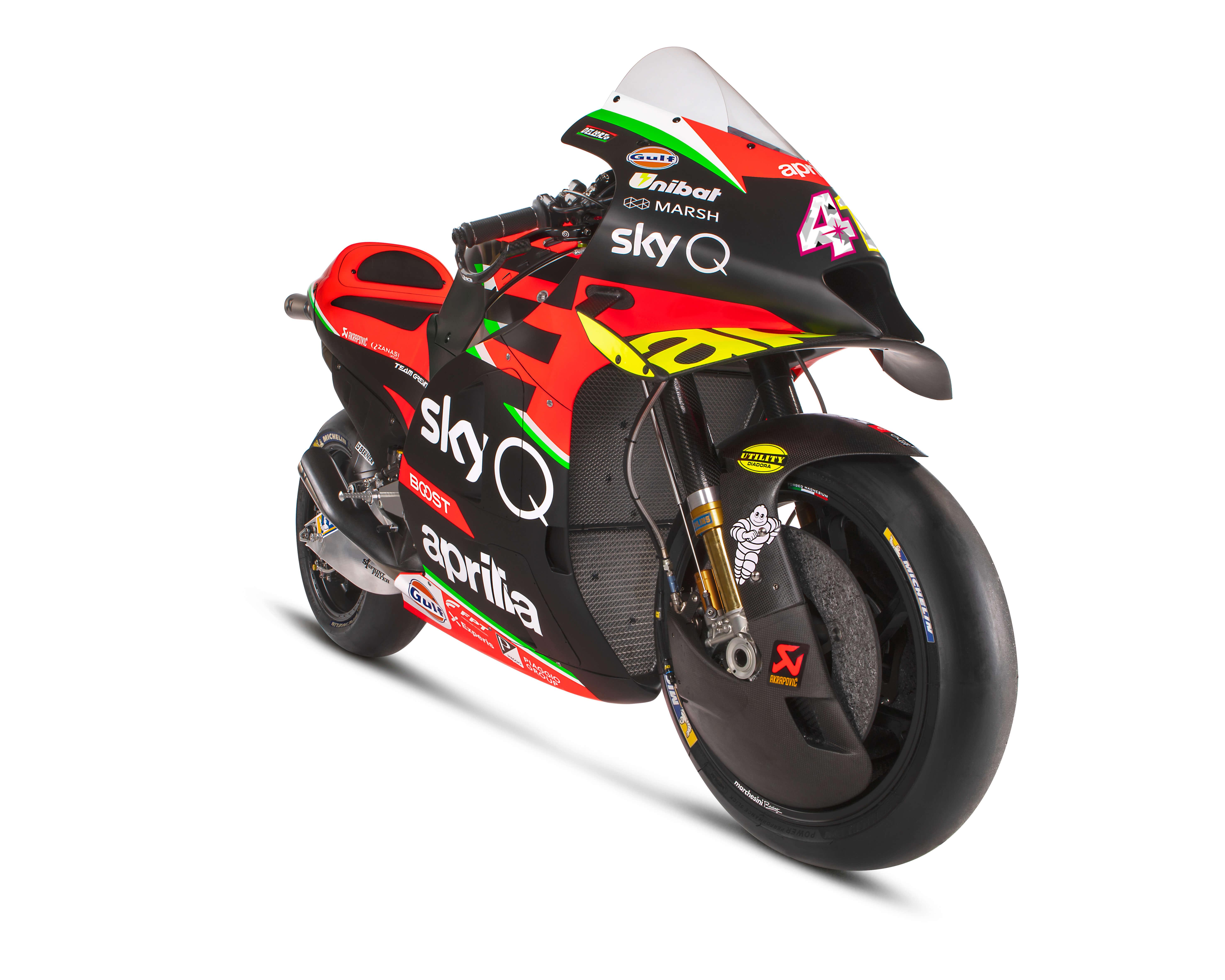Aprilia RS-GP MotoGP Racebike Unveiled - Motorcycle.com News